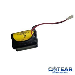 Batería p/ Fanuc  equivalente a  A98L-0031-0025 4 elementos 6V