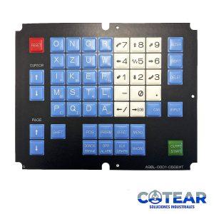 Membrana keysheet Teclado A98L-0001-568#T P/ Fanuc
