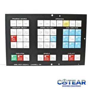 Membrana keysheet Teclado A98L-0001-0524#J P/ Fanuc