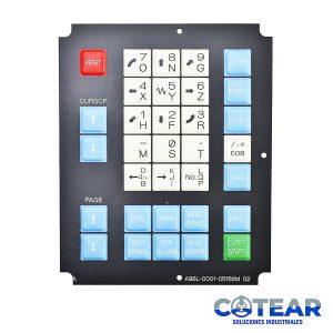 Membrana keysheet Teclado A98L-0001-0518#M 02 P/ Fanuc